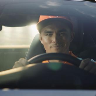 """PGA Tour Professional Golfer Rickie Fowler in """"Outdrive Expectations"""""""