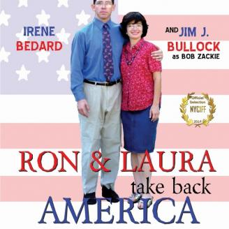 """Poster from """"Ron and Laura Take Back America"""""""