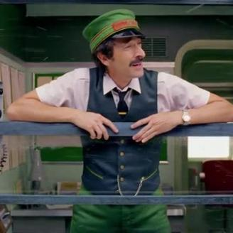 """Wes Anderson, Adrien Brody Board Holiday Train For H&M Short """"Come Together"""""""