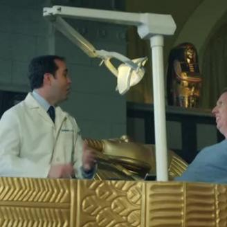 """The Best Work You May Never See: Director Nick Ball, CP+B Set Up Dental Appointment In """"Museum"""""""