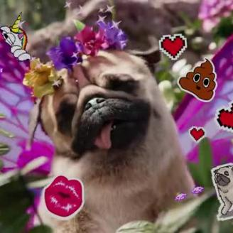 """W+K London, The Mill Liberate """"Puggerfly""""For Three UK"""