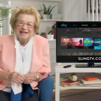 """The Martin Agency Goes """"Slinging With Dr. Ruth"""""""